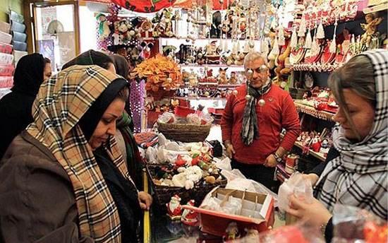 جشن سال نو میلادی و کریسمس ارامنه در ایران