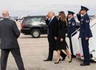 عکس های ترامپ و همسر و داخترانش در مراسم تحلیف
