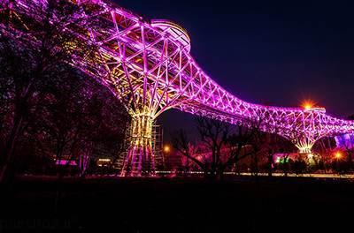 گزارش بازدید مفصل از پل طبیعت نماد گردشگری تهران