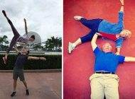 تصاویر خنده دار شوخی پدر و مادرها با فرزندان