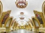 تصاویری از زیباترین متروی جهان در مسکو