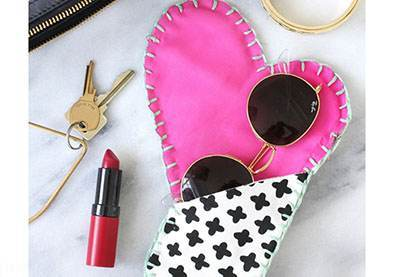 مدل های دوخت کیف زیبا برای عینک و موبایل