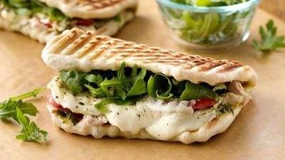 ساندویچ رژیمی پانینی مارگریتا خوشمزه
