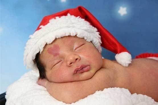 علامت عشق روی صورت این نوزاد جنجالی شد