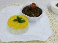 خورش قرمه سبزی را به سبک تبریزی ها درست کنیم