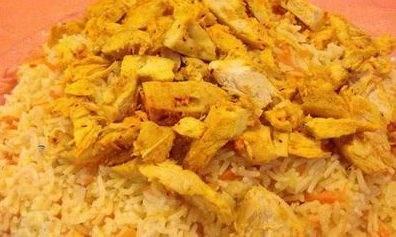 آموزش آشپزی هویج پلو با مرغ غذای عالی