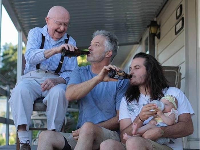 عکس های جالب و دیدنی از گذر عمر در انسان ها