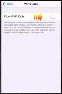 ترفند استفاده از وای فای آیفون برای مکالمه