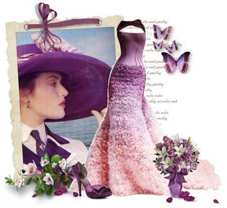 مدل های لباس شب به انتخاب کیت وینسلت