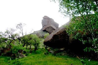 سفر به پیکره سنگی بابا داوود در استان اردبیل