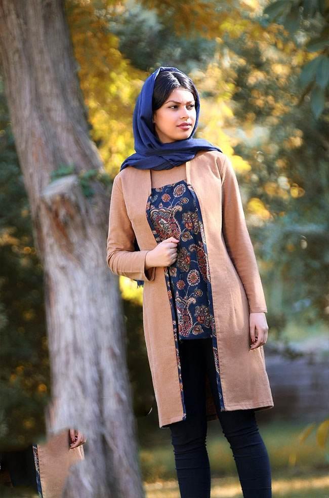 مدل مانتو کرب باربی جدیدترین مدل مانتو برند ایرانی ایواز.