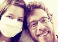 زنی که به علت آلرژی به شوهرش نمی تواند به او نزدیک شود