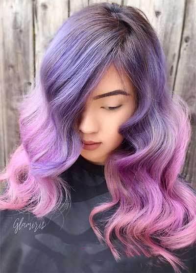 رنگ مو و هایلایت مو ویژه سال 2019