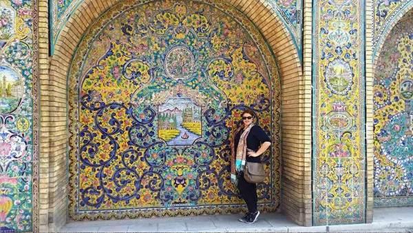 جاذبه های گردشگری ایران به روایت دختر بلغاری