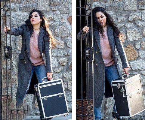 چمدان آرایش ایوانکا ترامپ جنجالی شد