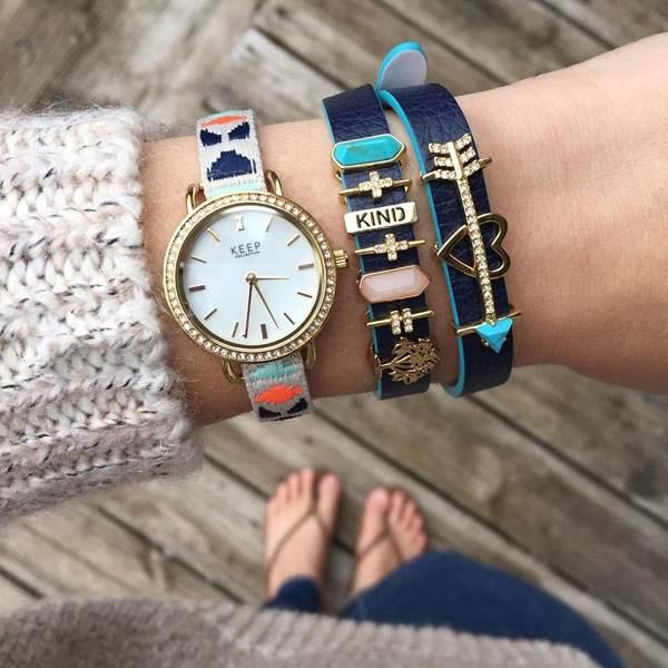 مدل های ساعت و دستبند از برند Meredith Taylor