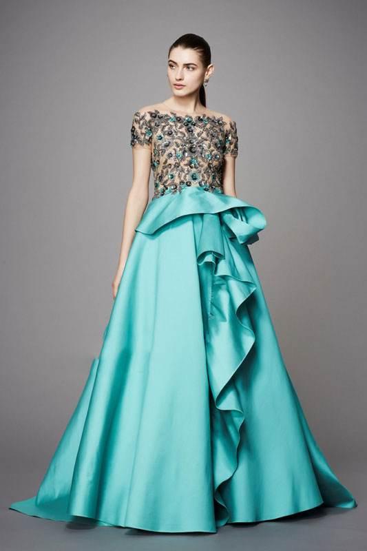 مدل های جدید لباس مجلسی برند Marchesa
