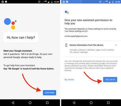 آموزش نصب دستیار هوشمند گوگل روی اندروید