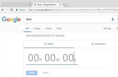 ترفند جالب استفاده از تایمر گوگل