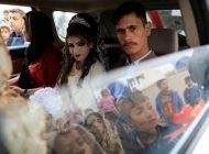 جشن عروسی در میان جنگ و شورش در موصل