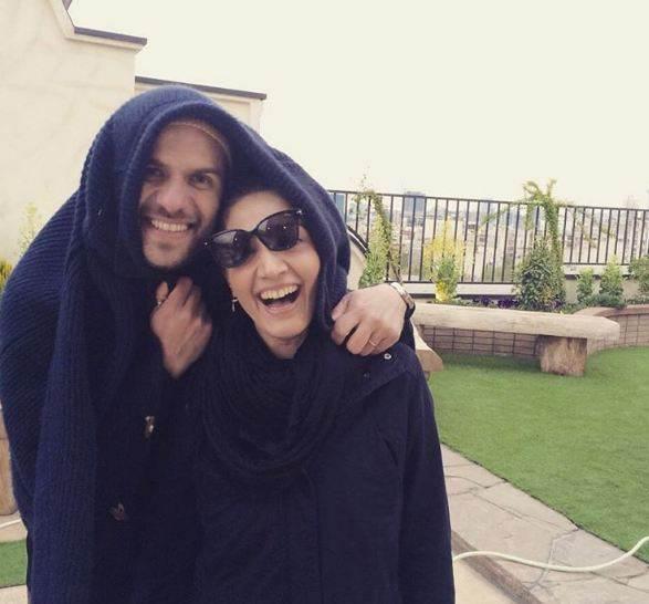 عکس های جدید بابک حمیدیان و همسرش مینا ساداتی
