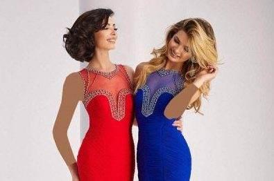 انواع مدل های لباس مجلسی زنانه برند Clarisse