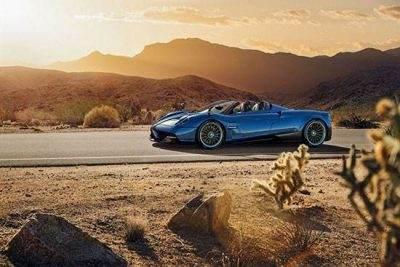 آشنایی با خودرو پاگانی هوایرا رودستر گران قیمت و زیبا