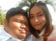 ازدواج جنجالی دختر زیبای تایلندی با این پسر چاق