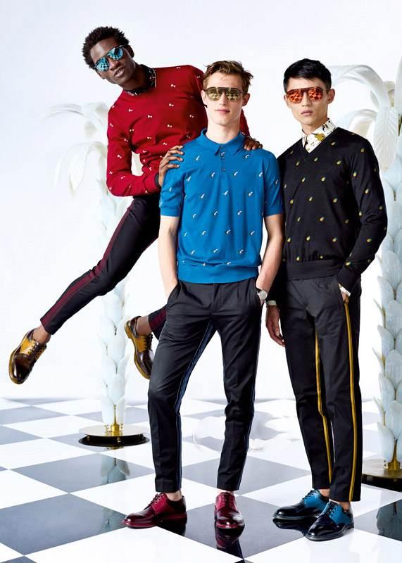 مدل های لباس مردانه برند Dolce Gabbana
