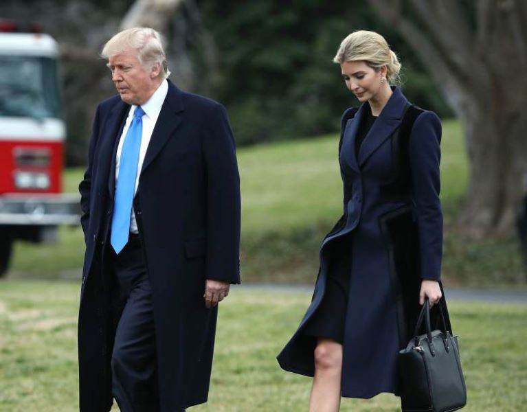 ایوانکا جایگزین همسر ترامپ شد