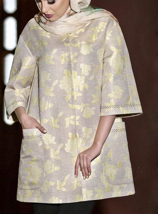 مدل های جدید مانتو بهاره از برند میهن بانو