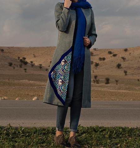 کلکسیون شیک ترین مانتوهای بهاری ایرانی 1396