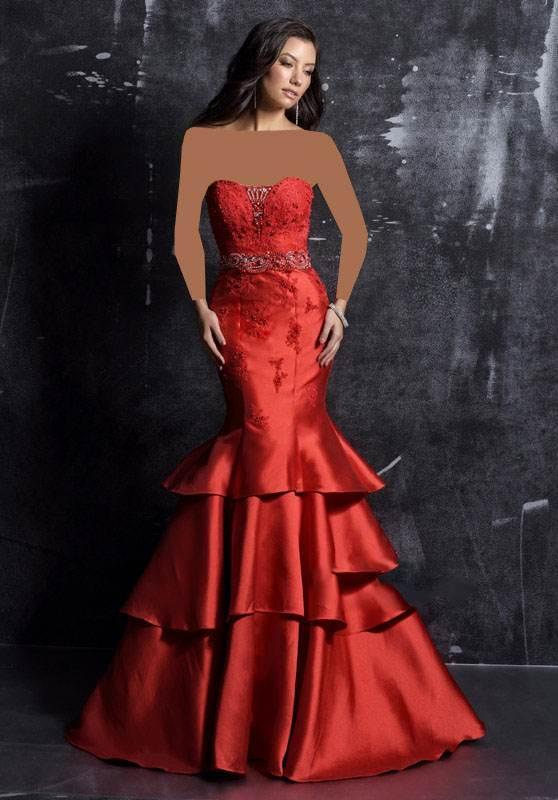 انواع مدل های لباس مجلسی برند Nina Canacci