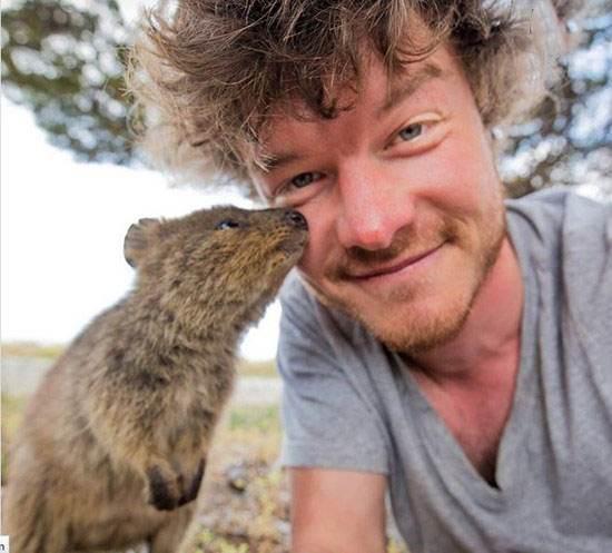 عکس های سلفی دیدنی در کنار حیوانات وحشی