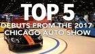 5 محصول برتر نمایشگاه خودرو شیکاگو 2017