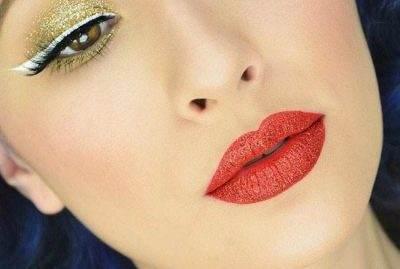 مدل های آرایش فانتزی چشم و ابرو از Rosalina Young