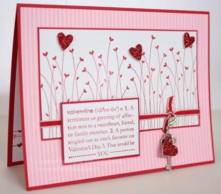 مدل های کارت پستال دست ساز روز ولنتاین