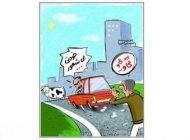 داستان کوتاه طنز فحش دادن به راننده