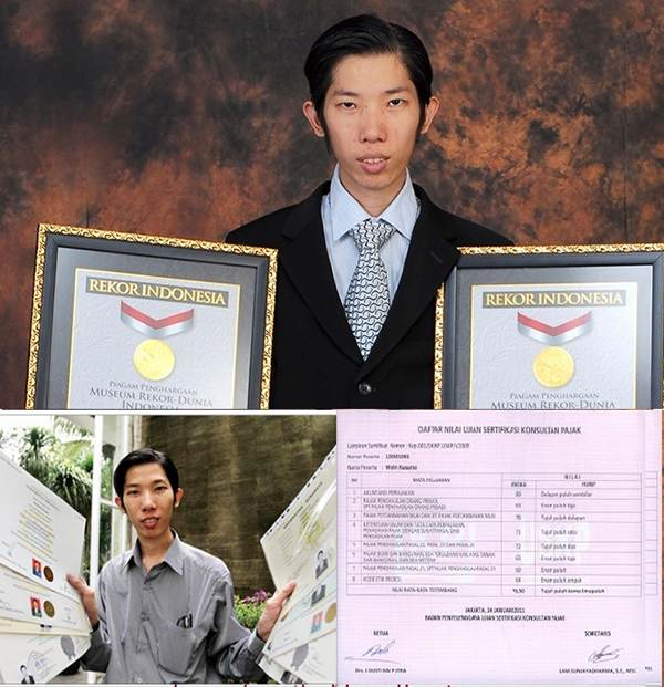 پسر جوان نابغه 19 مدرک دانشگاهی گرفته است