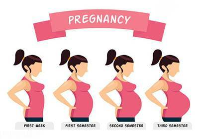 عکس بارداری طبیعی