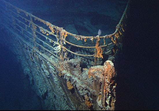 اکتشاف پرماجرا برای یافتن کشتی تاریخی تایتانیک