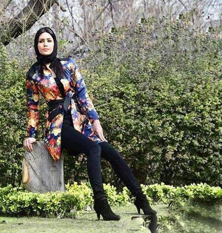 انواع مدل های مانتو ایرانی برای نوروز 1396