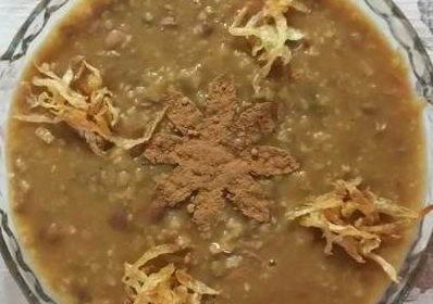 طرز تهیه آش نخود سوپ زمستانی گرم