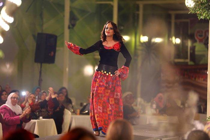 فشن شوی دختران مدل عرب فلسطینی