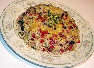 طرز تهیه پلوی مرغ و بادمجان غذای عالی