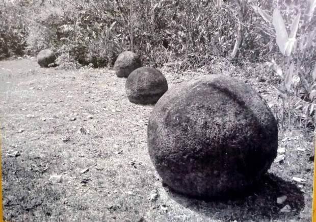 رد پای موجودات فضایی در گوی های سنگی کاستاریکا