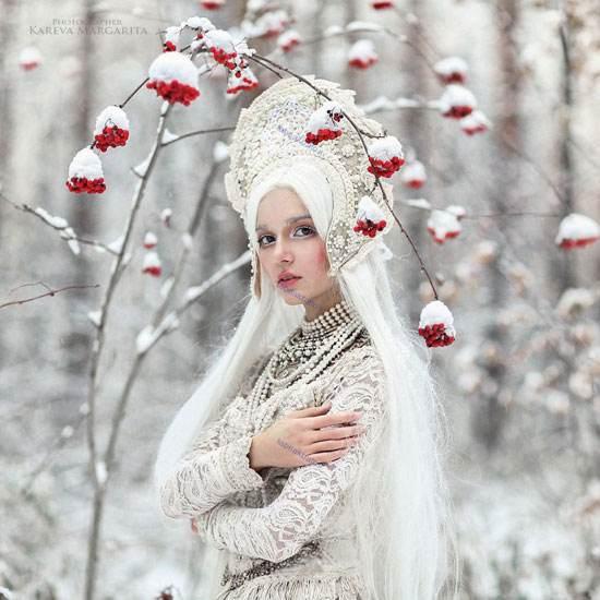 افسانه های جن و پری عکاسی از زنان زیبای روسی