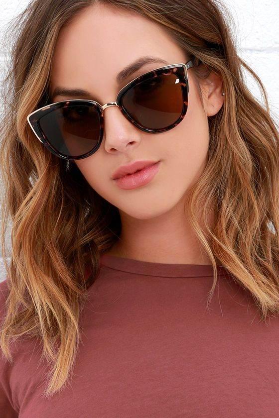 مدل های عینک زنانه زیبا مد سال 2017 مدل های عینک زنانه چشم گربه ای شیک