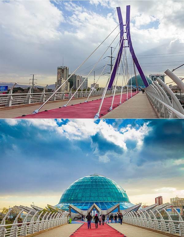 بازدید مفصل از پل طبیعت نماد گردشگری تهران (2)