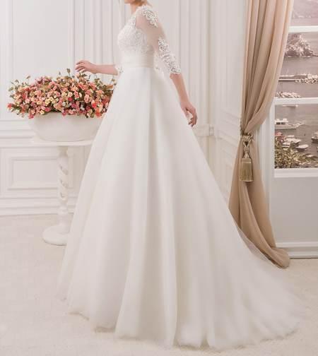 مدل های زیبای لباس عروس زیبا آستین بلند